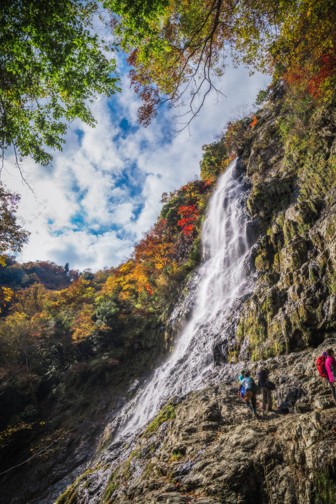 6b53b3924d873ca5db79b083dc59ff5d-683x1024 落差98メートル!兵庫県一の落差を誇る紅葉の天滝へツーリング旅!
