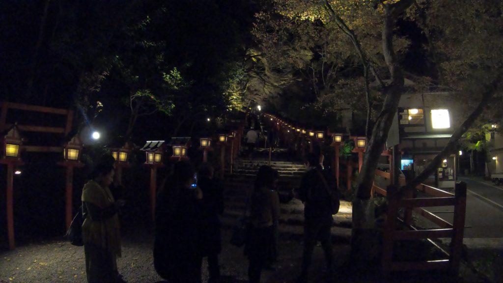 GH011979-1024x576 京の奥座敷 紅葉ライトアップの貴船神社へ訪れました!