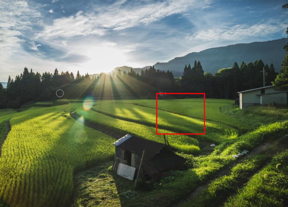 554293715bd52b9e6a5fcd2c234005ff Photoshop(フォトショップ)を使って写真の太陽光やゴースト・レンズフレアを消すレタッチテクニックを解説!!   [ゴースト・フレアの除去]