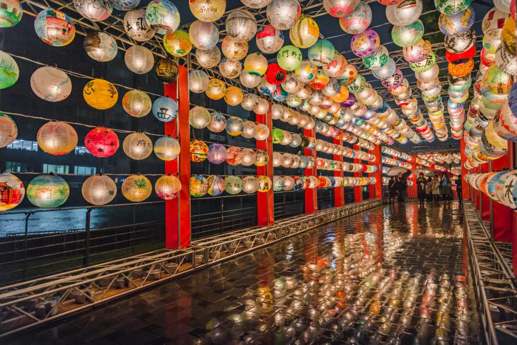 DSC_0834-1024x684 大阪  中之島公園( 大阪の夜景・イルミネーションの撮影におすすめ!撮影した写真の紹介、アクセス・光の饗宴情報など!)