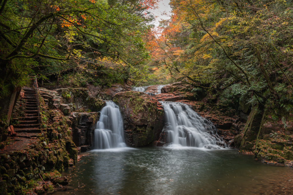 DSC_7127-1024x684 三重県 赤目四十八滝( 夏の新緑と秋の紅葉の時期におすすめ!沢山の滝を見れるハイキングスポット! 撮影した写真の紹介、アクセス方法や駐車場、料金などまとめ)