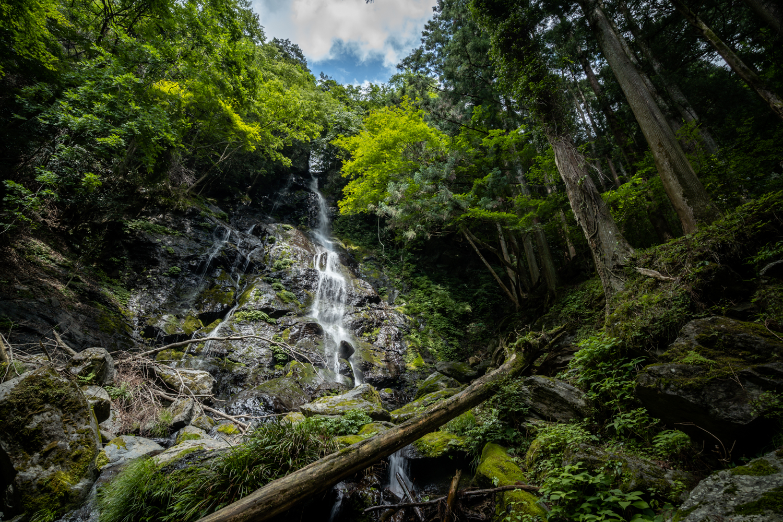 DSC06811 奈良県 和佐羅滝(奈良県の夏、新緑の時期におすすめの滝写真スポット!撮影した写真の紹介、アクセス情報や撮影ポイントなど!)