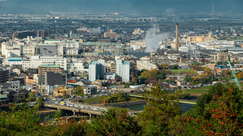 DSC01155 京都  宇治市 大吉山展望台( 京都の秋、紅葉の平等院や宇治の街を一望できる展望台! 撮影した写真の紹介、アクセス情報や交通手段など)