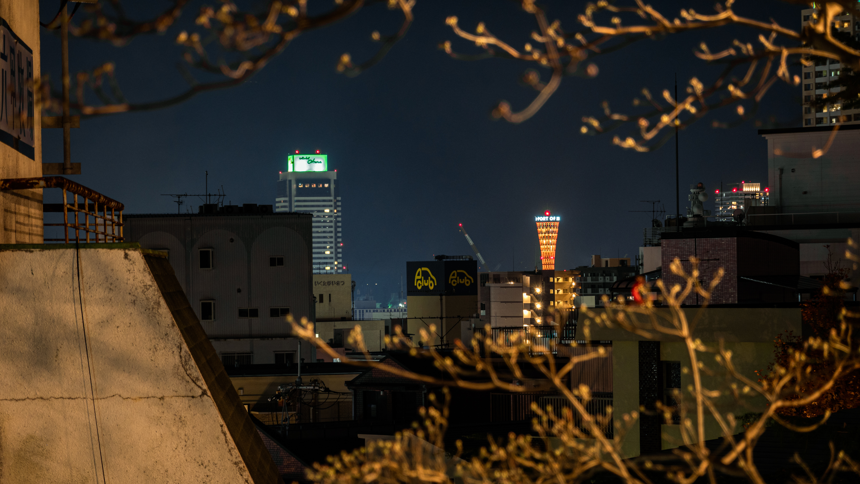 DSC01690 【兵庫県】神戸北野異人館街 港みはらし台(観光で人気の異人館街と街並みを一望できる夜景の穴場展望スポット!  ランタンフェア開催中 撮影した写真の紹介・アクセス情報や交通手段など)