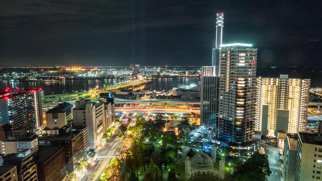 DSC01739-1024x577 兵庫  神戸市役所24階展望台 (神戸の街やルミナリエを一望できる夜景にもおすすめの写真スポット!アクセス情報や交通手段などまとめ!)