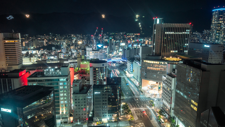 DSC01749 兵庫  神戸市役所24階展望台 (神戸の街やルミナリエを一望できる夜景にもおすすめの写真スポット!アクセス情報や交通手段などまとめ!)