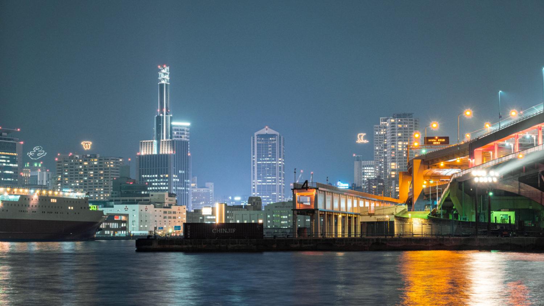 DSC02097-e1578312543674 兵庫  神戸大橋・ポートアイランド北公園 (神戸港と六甲山を一望できる夜景にもおすすめの写真撮影スポット!アクセス情報や交通手段・駐車場・客船情報などまとめ!)