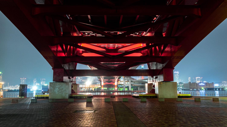 DSC02106-e1578312520311 兵庫  神戸大橋・ポートアイランド北公園 (神戸港と六甲山を一望できる夜景にもおすすめの写真撮影スポット!アクセス情報や交通手段・駐車場・客船情報などまとめ!)