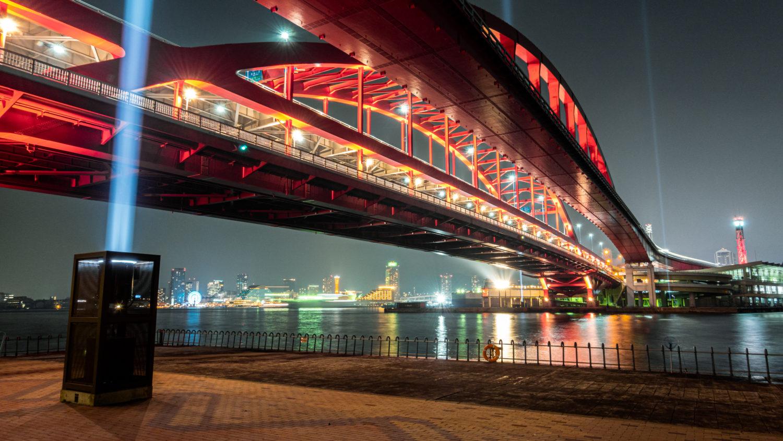DSC02107-e1578312512656 兵庫  神戸大橋・ポートアイランド北公園 (神戸港と六甲山を一望できる夜景にもおすすめの写真撮影スポット!アクセス情報や交通手段・駐車場・客船情報などまとめ!)
