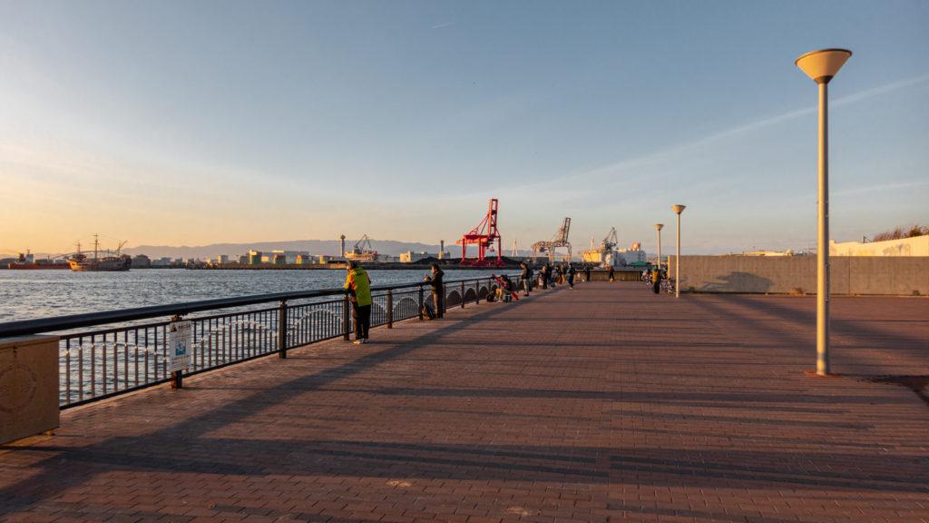 DSC02279-1024x576 大阪府 大阪港ダイヤモンドポイント   (大阪随一の夕日と夜景を撮影できるおすすめの写真スポット!アクセス情報や駐車場・交通手段などまとめ!)