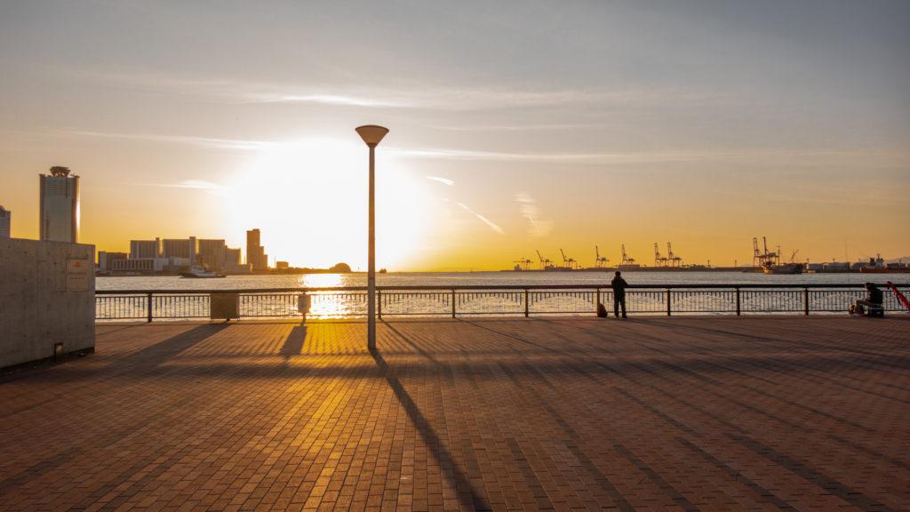 DSC02281-1024x576 大阪府 大阪港ダイヤモンドポイント   (大阪随一の夕日と夜景を撮影できるおすすめの写真スポット!アクセス情報や駐車場・交通手段などまとめ!)