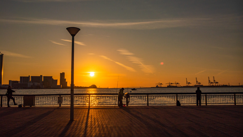 DSC02294-e1578491000416 大阪府 大阪港ダイヤモンドポイント   (大阪随一の夕日と夜景を撮影できるおすすめの写真スポット!撮影した写真の紹介、アクセス情報や駐車場・交通手段などまとめ!)