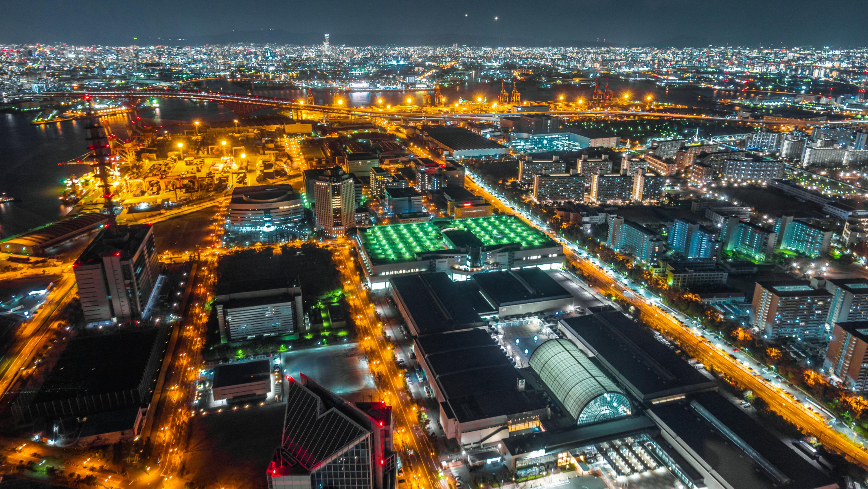 DSC02435 大阪  咲洲庁舎展望台・コスモタワー (大阪港と大阪の街を一望できる夜景にもおすすめの写真スポット!アクセス情報や交通手段などまとめ!)