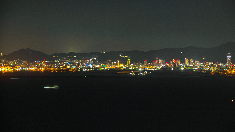 DSC02446 大阪  咲洲庁舎展望台・コスモタワー (大阪港と大阪の街を一望できる夜景にもおすすめの写真スポット!アクセス情報や交通手段などまとめ!)
