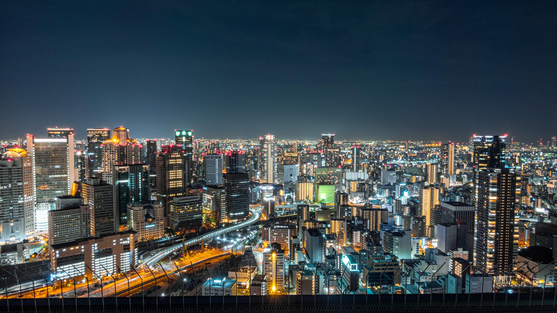 DSC02473 大阪  梅田スカイビル・空中展望台 (大阪の街を一望できる夜景にもおすすめの写真スポット!クリスマスイベント情報・スカイビルまでの行き方や駐車場などまとめ!)