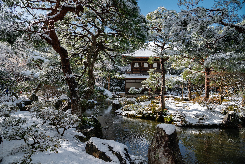 NIKON-CORPORATION_NIKON-D800E_42313202-42405477_302 京都  銀閣寺( 京都の冬 雪景色の庭園が美しいおすすめの写真撮影スポット!撮影した写真の紹介、アクセス情報や交通手段など!)