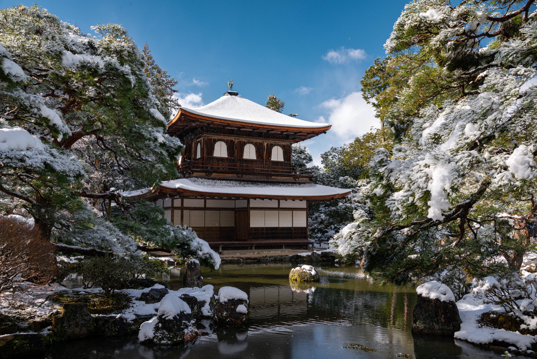 NIKON-CORPORATION_NIKON-D800E_43034802-43125579_310 京都  銀閣寺( 京都の冬 雪景色の庭園が美しいおすすめの写真撮影スポット!撮影した写真の紹介、アクセス情報や交通手段など!)