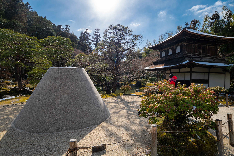 NIKON-CORPORATION_NIKON-D850_1894092338-1894204550_16186 京都  銀閣寺( 京都の冬 雪景色の庭園が美しいおすすめの写真撮影スポット!撮影した写真の紹介、アクセス情報や交通手段など!)
