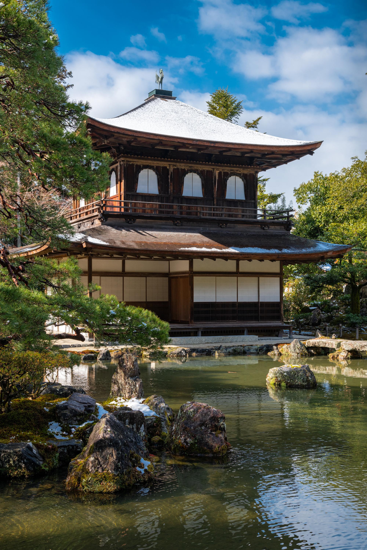 NIKON-CORPORATION_NIKON-D850_1897668018-1897777482_16218 京都  銀閣寺( 京都の冬 雪景色の庭園が美しいおすすめの写真撮影スポット!撮影した写真の紹介、アクセス情報や交通手段など!)
