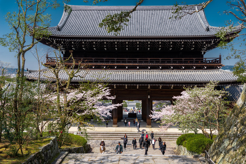NIKON-CORPORATION_NIKON-D800E_1610322034-1610421556_14129 京都府 知恩院(三門の美しい桜景色! 京都で春におすすめの写真スポット! 撮影した写真の紹介、ライトアップやアクセス.駐車場.開花情報など)