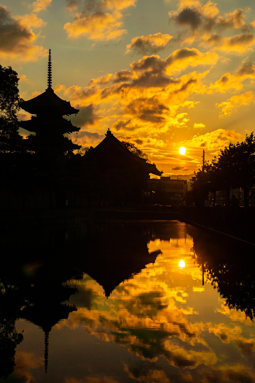 SONY_ILCE-7M3_3494432434-3494480823_2966 京都府 東寺(水面に映る五重塔と桜の美しい景色! 京都の春におすすめ桜写真スポット! 撮影した写真の紹介、アクセスや駐車場.ライトアップ.2020年桜の見ごろ予想など)