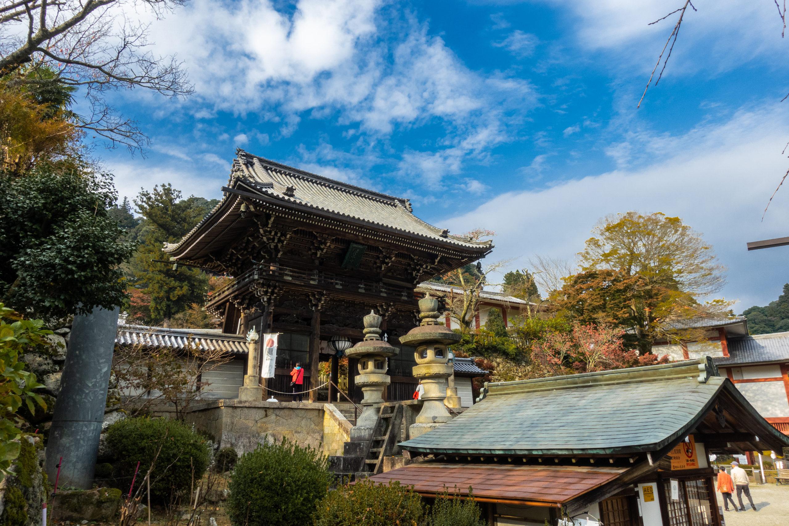 DSC00418-scaled 奈良県  長谷寺(風情を感じる五重塔と紅葉景色が美しい秋のおすすめスポット! 撮影した写真の紹介、アクセス情報や駐車場情報など)