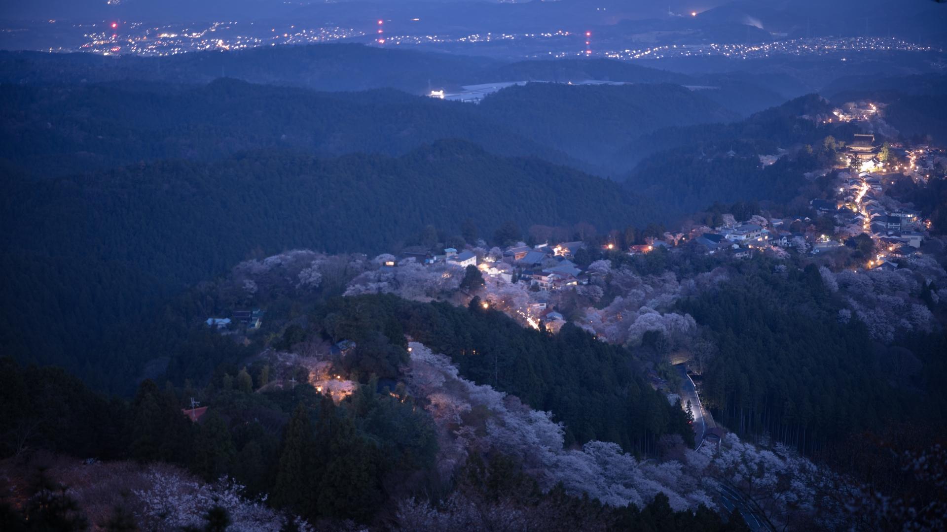 4325044_m 奈良県  吉野山(山が桜に染まる春におすすめの絶景スポット! 写真の紹介、アクセス情報や駐車場情報など)
