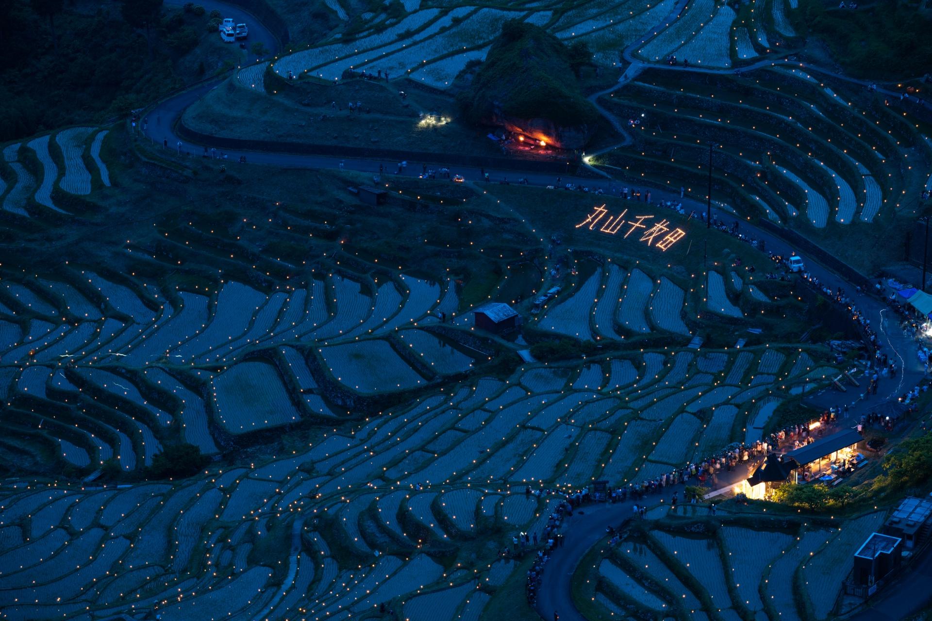 3940197_m 三重県 丸山千枚田(1340枚もの田が連なる日本最大級の絶景棚田スポット! 写真の紹介、アクセス情報など)
